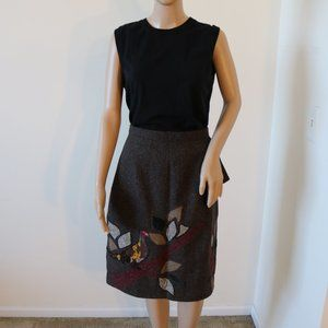 NWT, Anthropologie, In The Trees Skirt, 12